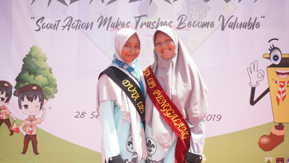 Pasukan Pramuka Al Manar Putri
